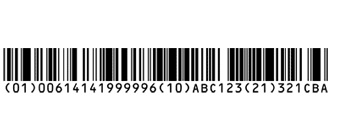 GS1 Databar Barcodes Databar Expanded